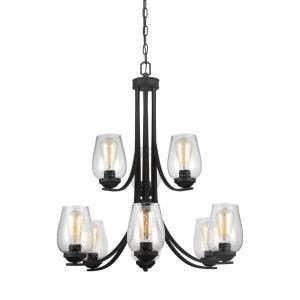 Morill - Nine Light 2-Tier Chandelier