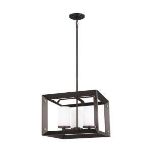Chatauqua - 100W Three Light Chandelier
