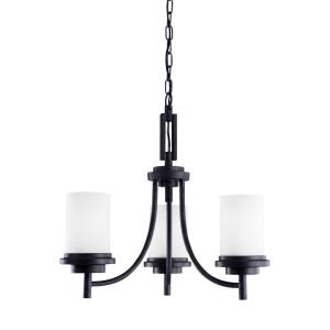 Winnetka - Three Light Chandelier