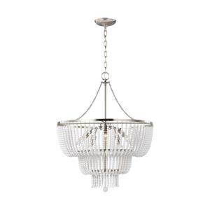 Jackie - 6 Light Chandelier - 22 inches wide by 27.63 inches high
