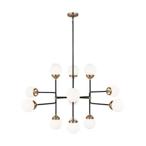 Cafe - 12 Light Large Chandelier - 47 inches wide by 29 inches high