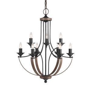 Corbeille - Nine Light Chandelier
