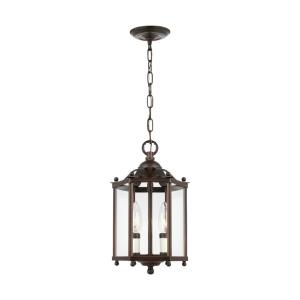 Three-light Hall/foyer in Traditional Style - 9 inches wide by 16 inches high