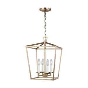Dianna - 4 Light Small Pendant - 12.5 inches wide by 18 inches high