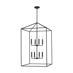 Perryton - 8 Light Extra Large Hall Foyer in Transitional Style - 22 inches wide by 38 inches high
