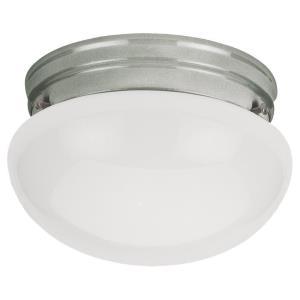Single-light Brushed Nickel Ceiling