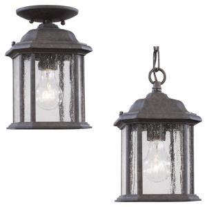 Single-Light Kent Outdoor Pendant