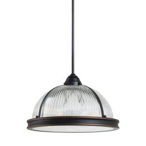 Pratt Street Prismatic - 3 Light Pendant in Contemporary Style - 16.25 inches wide by 10 inches high