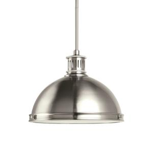 Pratt Street Metal - Two Light Pendant in Contemporary Style - 13 inches wide by 9.75 inches high