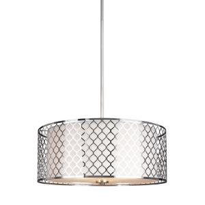 Jourdanton - Three Light Pendant in Contemporary Style - 20.63 inches wide by 8.25 inches high