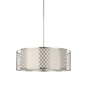 Jourdanton - Four Light Pendant in Contemporary Style - 24.38 inches wide by 8.25 inches high