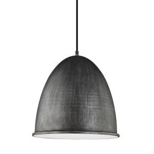 Hudson Street - One Light Pendant in Transitional Style - 15.75 inches wide by 15.88 inches high