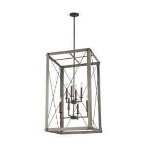 Thornwood - 8 Light Large Foyer - 23.13 inches wide by 38 inches high
