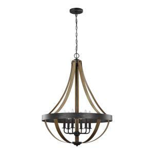 Davlin - 60W Six Light Pendant