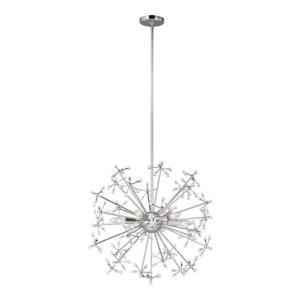 Davi - 6 Light Pendant in Modern Style - 24.88 inches wide by 20.38 inches high