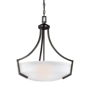 Hanford - Three Light Pendant in Transitional Style - 20.56 inches wide by 22.63 inches high