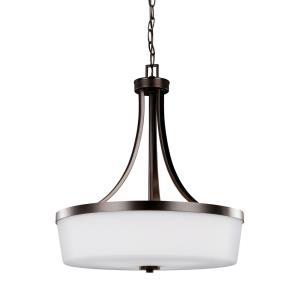 Hettinger - 100W Three Light Pendant