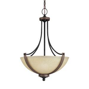 Corbeille - Three Light Pendant