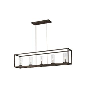 Zire - 17.5W 5 LED Island in Modern Style - 9 inches wide by 11 inches high