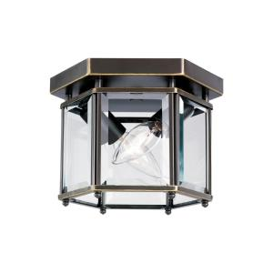 Two Light Bound Glass Ceiling Light