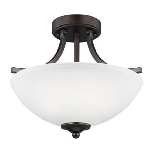 Geary - 100W Two Light Small Convertible Pendant