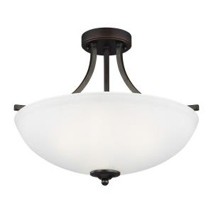 Geary - 100W Three Light Medium Convertible Pendant