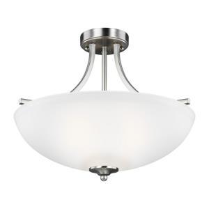 Geary - 100W Three Light Medium Convertible Pendant