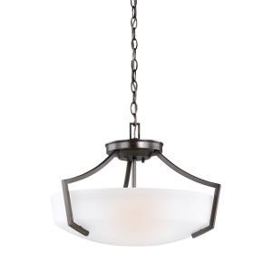 Hanford - Three Light Convertible Pendant