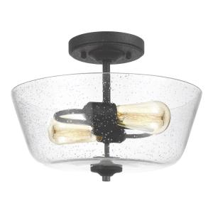 Morill - Two Light Semi-Flush Mount