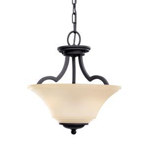 Somerton - Two Light Convertible Pendant