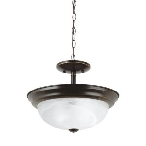 Windgate - Two Light Convertible Semi-Flush Mount