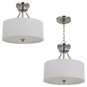 Stirling - Two Light Semi-Flush Mount