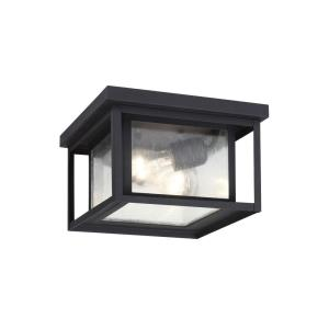 Hunnington - Two Light Outdoor Square Flush Mount