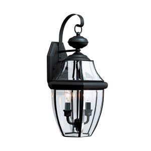 Two Light Outdoor Wall Fixture