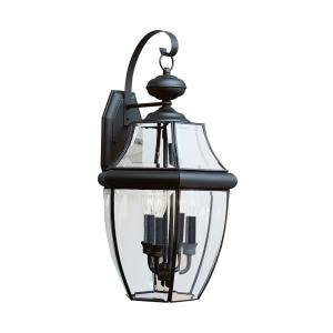 Three Light Outdoor Wall Fixture