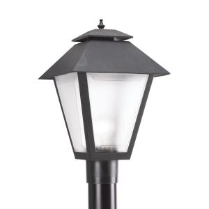 One Light Outdoor Post Lamp in Traditional Style - 10.5 inches wide by 18 inches high