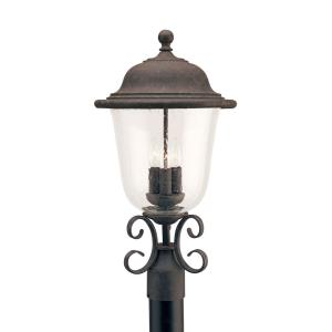 Three Light Outdoor Post Fixture