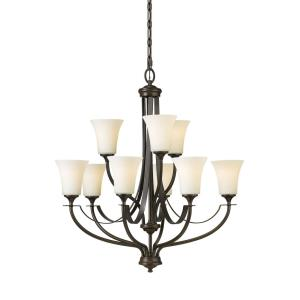 Barrington - Nine Light 2-Tier Chandelier
