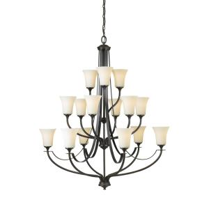 Barrington - Fifteen Light 3-Tier Chandelier