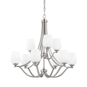 Vintner - Nine Light 2-Tier Chandelier