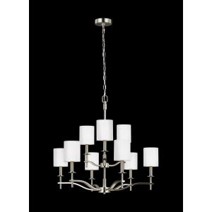 Hewitt - Nine Light 2-Tier Chandelier
