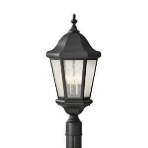 Martinsville - Three Light Outdoor Post Mount
