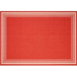 Garden Cottage - Outdoor Rug - Cherry Color