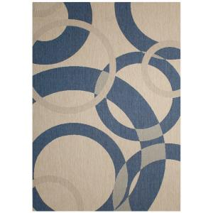 "Champagne - 120x94"" Outdoor Rug"