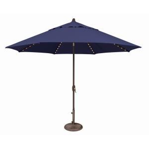 Lanai Pro - 11' Octagon Starlight Umbrella with Auto Tilt