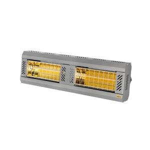 ICR Series 3000V 240V Electric Radiant Infrared Heater - Silver