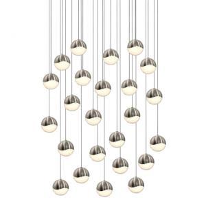 Grapes - 26.25 Inch 96W 24 LED Round Medium Pendant