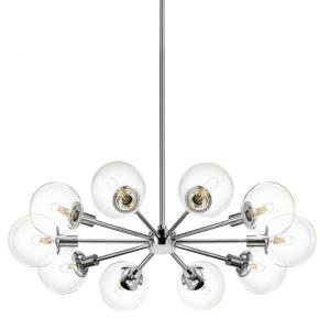 Orb - Ten Light Radial Pendant