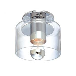 Transparence - One Light Flush Mount