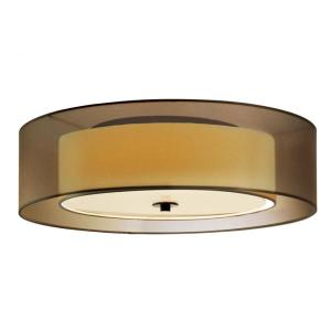 Puri - 7 Inch Three Light Flush Mount